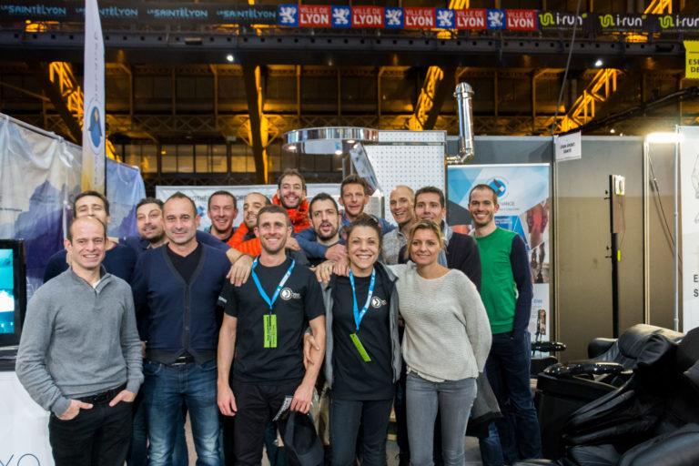 photo d'équipe CRYO Advance, du centre de médecine du sport de gerland et du CKS de gerland