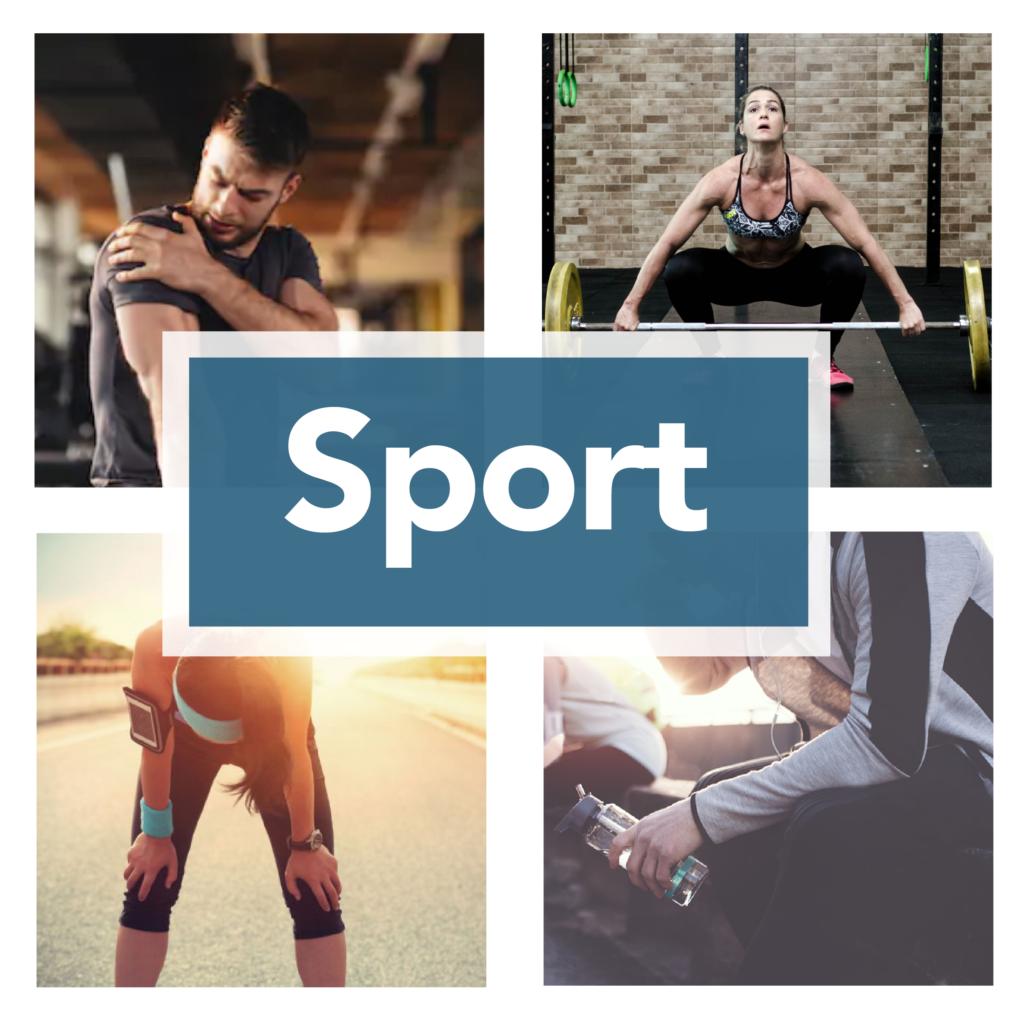 Des soins complémentaires adaptés aux sportifs. Optimisation de la performance, récupération, blessures