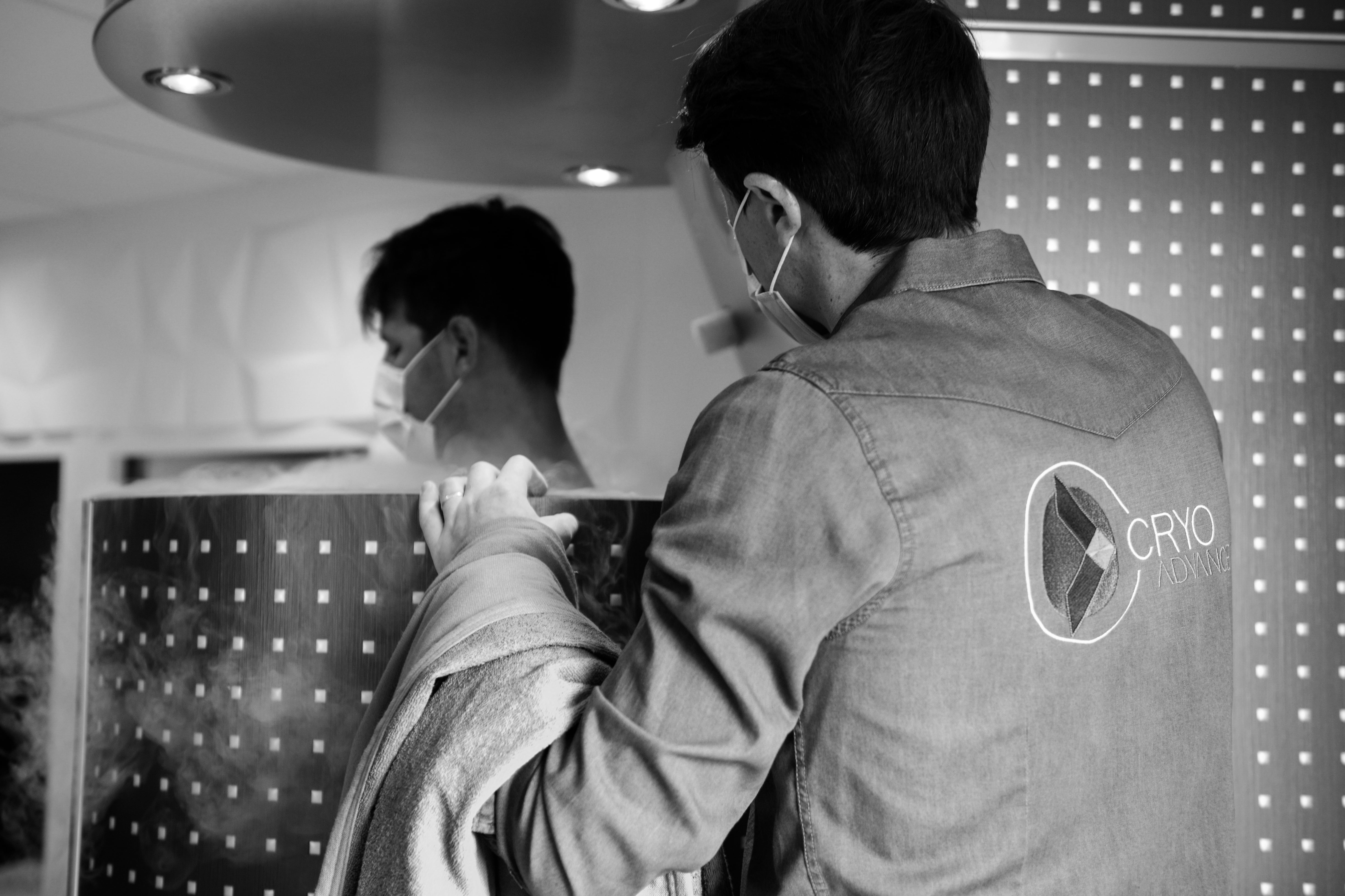 séance de cryothérapie corps entier au centre cryoadvance annecy